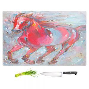 Artistic Kitchen Bar Cutting Boards | Hooshang Khorasani - Equine Power Horses