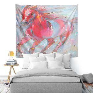 Artistic Wall Tapestry | Hooshang Khorasani - Equine Power Horse