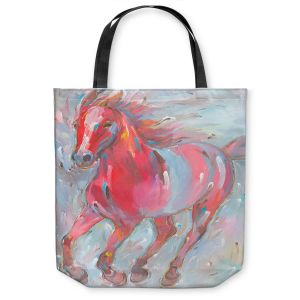 Unique Shoulder Bag Tote Bags | Hooshang Khorasani - Equine Power Horse
