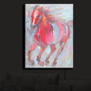 Nightlight Sconce Canvas Light | Hooshang Khorasani's Equine Power