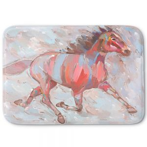 Decorative Bathroom Mats | Hooshang Khorasani - Full Stride Ahead Horses