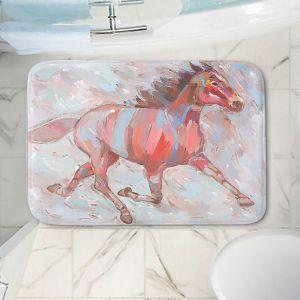 Decorative Bathroom Mats | Hooshang Khorasani - Full Stride Ahead Horses