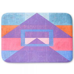 Decorative Bathroom Mats | Hooshang Khorasani - Geometric Joy | lines pattern geometric