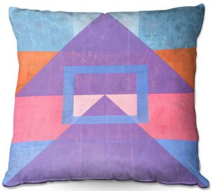 Throw Pillows Decorative Artistic | Hooshang Khorasani - Geometric Joy | lines pattern geometric