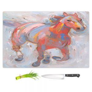 Artistic Kitchen Bar Cutting Boards | Hooshang Khorasani - Hear the Pounding I