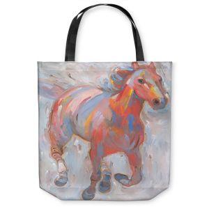 Unique Shoulder Bag Tote Bags | Hooshang Khorasani Hear the Pounding I