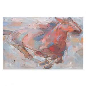 Decorative Floor Coverings | Hooshang Khorasani - Hear the Pounding II Horse
