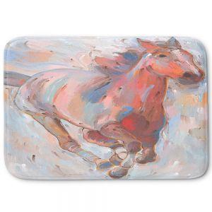 Decorative Bathroom Mats   Hooshang Khorasani - Hear the Pounding II Horses