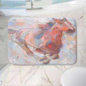 Decorative Bathroom Mats | Hooshang Khorasani - Hear the Pounding II Horses