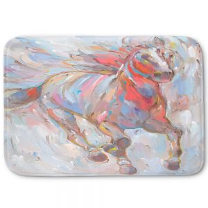 Decorative Bathroom Mats | Hooshang Khorasani - Horse Power I Horses