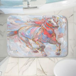 Decorative Bathroom Mats | Hooshang Khorasani - Horse Power I Horses