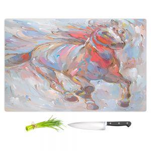 Artistic Kitchen Bar Cutting Boards   Hooshang Khorasani - Horse Power I Horse