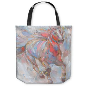 Unique Shoulder Bag Tote Bags | Hooshang Khorasani Horse Power I Horse