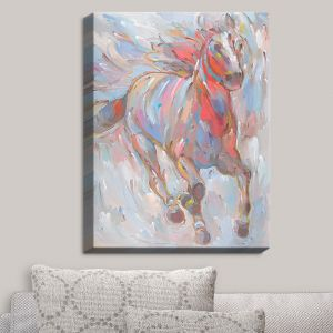 Decorative Canvas Wall Art | Hooshang Khorasani - Horse Power I Horses