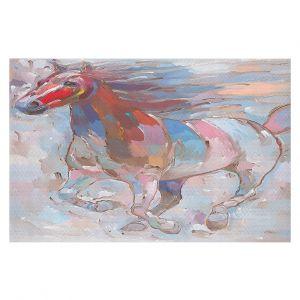 Decorative Floor Coverings | Hooshang Khorasani Horse Power II Horse