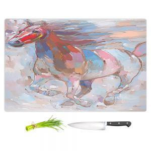 Artistic Kitchen Bar Cutting Boards   Hooshang Khorasani - Horse Power II Horse
