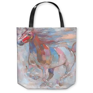 Unique Shoulder Bag Tote Bags | Hooshang Khorasani Horse Power II Horse