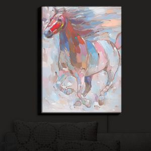 Nightlight Sconce Canvas Light | Hooshang Khorasani's Horse Power II