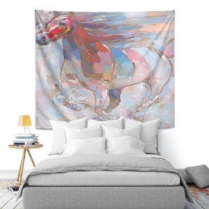 Artistic Wall Tapestry | Hooshang Khorasani Horse Power II Horse