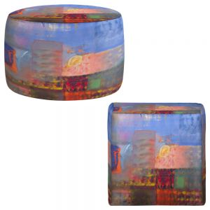 Round and Square Ottoman Foot Stools | Hooshang Khorasani - Luminescence