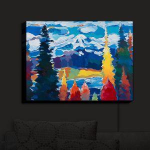 Nightlight Sconce Canvas Light   Hooshang Khorasani - Mountain View