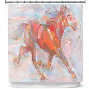 Premium Shower Curtains | Hooshang Khorasani Natural Runner