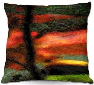 Throw Pillows Decorative Artistic   Hooshang Khorasani's Natures Brushwork