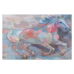 Decorative Floor Coverings | Hooshang Khorasani Ready To Soar II Horse