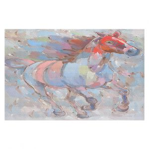 Decorative Floor Coverings | Hooshang Khorasani - Ready to Soar III Horse