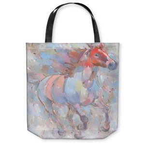 Unique Shoulder Bag Tote Bags | Hooshang Khorasani - Ready to Soar III Horse
