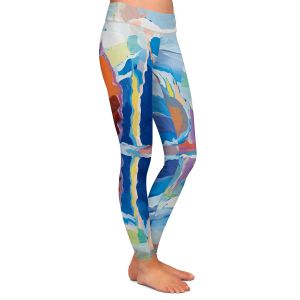 Casual Comfortable Leggings | Hooshang Khorasani - Reflection of Beauty | forest landscape tree field lake