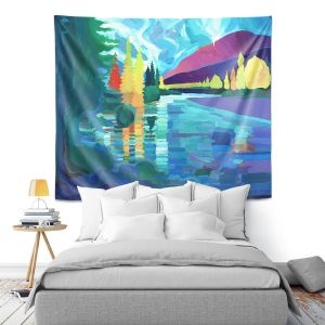 Artistic Wall Tapestry | Hooshang Khorasani Reflection of Tranquility