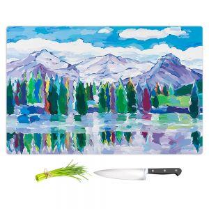 Artistic Kitchen Bar Cutting Boards | Hooshang Khorasani - Scenic Sentries