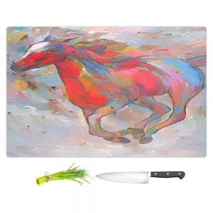 Artistic Kitchen Bar Cutting Boards | Hooshang Khorasani - Smooth Runner I