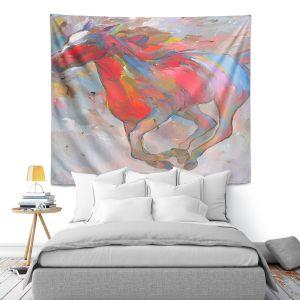 Artistic Wall Tapestry | Hooshang Khorasani Smooth Runner I