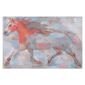 Decorative Floor Coverings | Hooshang Khorasani Smooth Runner III Horse