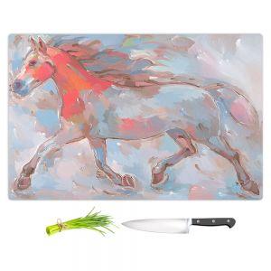 Artistic Kitchen Bar Cutting Boards   Hooshang Khorasani - Smooth Runner III Horse
