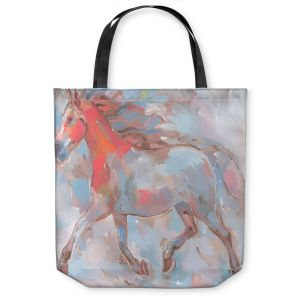 Unique Shoulder Bag Tote Bags | Hooshang Khorasani Smooth Runner III Horse