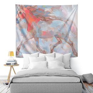 Artistic Wall Tapestry | Hooshang Khorasani Smooth Runner III Horse