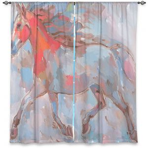 Decorative Window Treatments | Hooshang Khorasani Smooth Runner III Horse