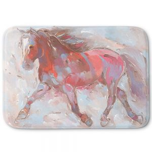 Decorative Bathroom Mats | Hooshang Khorasani - Steed With Style Horses