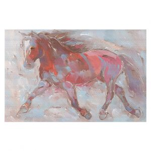 Decorative Floor Coverings | Hooshang Khorasani - Steed With Style Horse