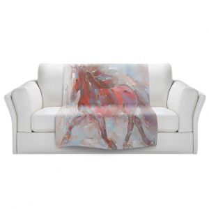 Artistic Sherpa Pile Blankets | Hooshang Khorasani - Steed With Style Horse