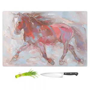 Artistic Kitchen Bar Cutting Boards | Hooshang Khorasani - Steed With Style Horses