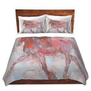 Artistic Duvet Covers and Shams Bedding | Hooshang Khorasani - Steed With Style Horses