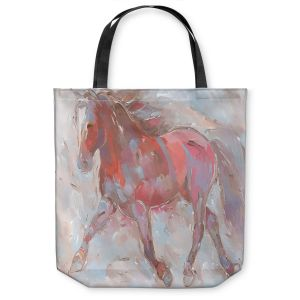 Unique Shoulder Bag Tote Bags | Hooshang Khorasani - Steed With Style Horse