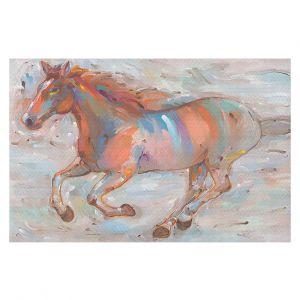 Decorative Floor Coverings | Hooshang Khorasani Stormy Racer Horse
