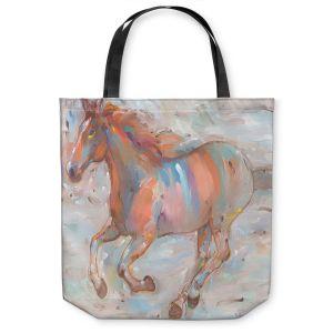 Unique Shoulder Bag Tote Bags | Hooshang Khorasani Stormy Racer Horse