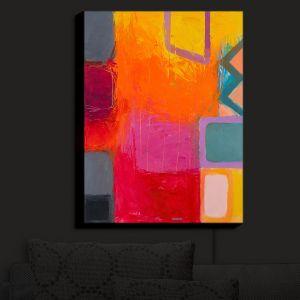 Nightlight Sconce Canvas Light | Hooshang Khorasani - Sunset
