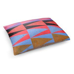 Decorative Dog Pet Beds | Hooshang Khorasani - Three Dozen | geometry pattern triangle repetition